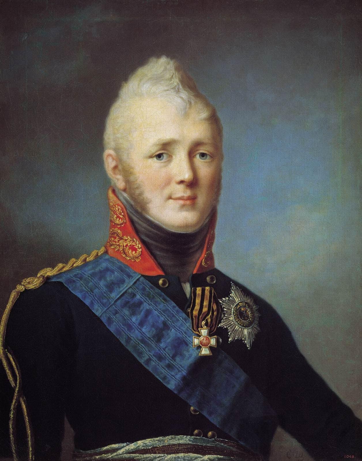 صورة للقيصر الروسي ألكسندر الأول
