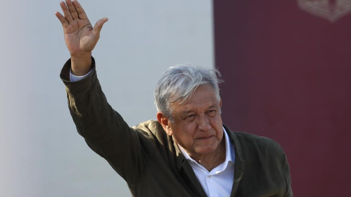 Mexican President Andres Manuel Lopez Obrador arrives at a rally in Tijuana, Mexico, Saturday, June 8, 2019. The event was originally scheduled as an act of solidarity in the face of President Donald Trump's threat to impose a 5% tariff on Mexican imports if it did not stem the flow of Central American migrants heading toward the U.S. But Mexican and U.S. officials reached an accord Friday that calls on Mexico to crackdown on migrants in exchange for Trump backing off his threat. (AP