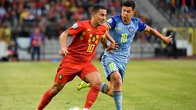 زيدان ينصح هازارد بعدم اللعب مع بلجيكا