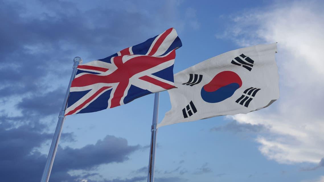 بريطانيا كوريا الجنوبية