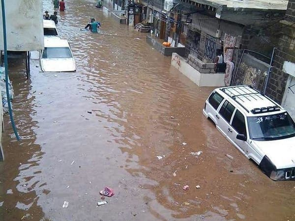 اليمن.. تضرر أكثر من 3 آلاف أسرة جرّاء الأمطار
