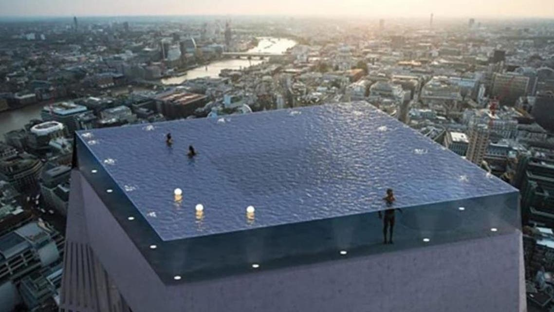 One of the world best swimming pool