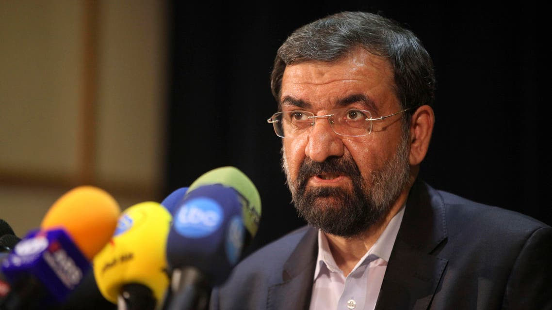 In a statement on Iranian TV, former IRGC chief Mohsen Rezaei claimed that one of the goals of the US sanctions is to create division in Iran's society. (File photo: AP)