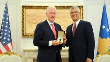 Kosovo decorates Bill Clinton with a 'freedom medal'