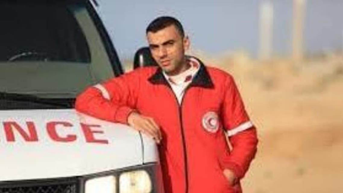 Palestnian young man Muhammad Sbali aljili