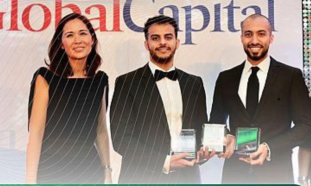 تسلم الجوائز الممنوحة لمكتب إدارة الدين العام بوزارة المالية السعودية