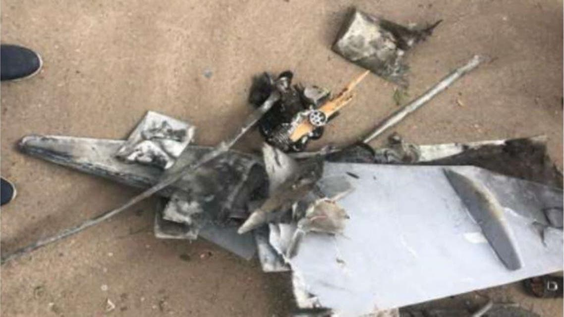 Suadi air defence targeted Houthis drone