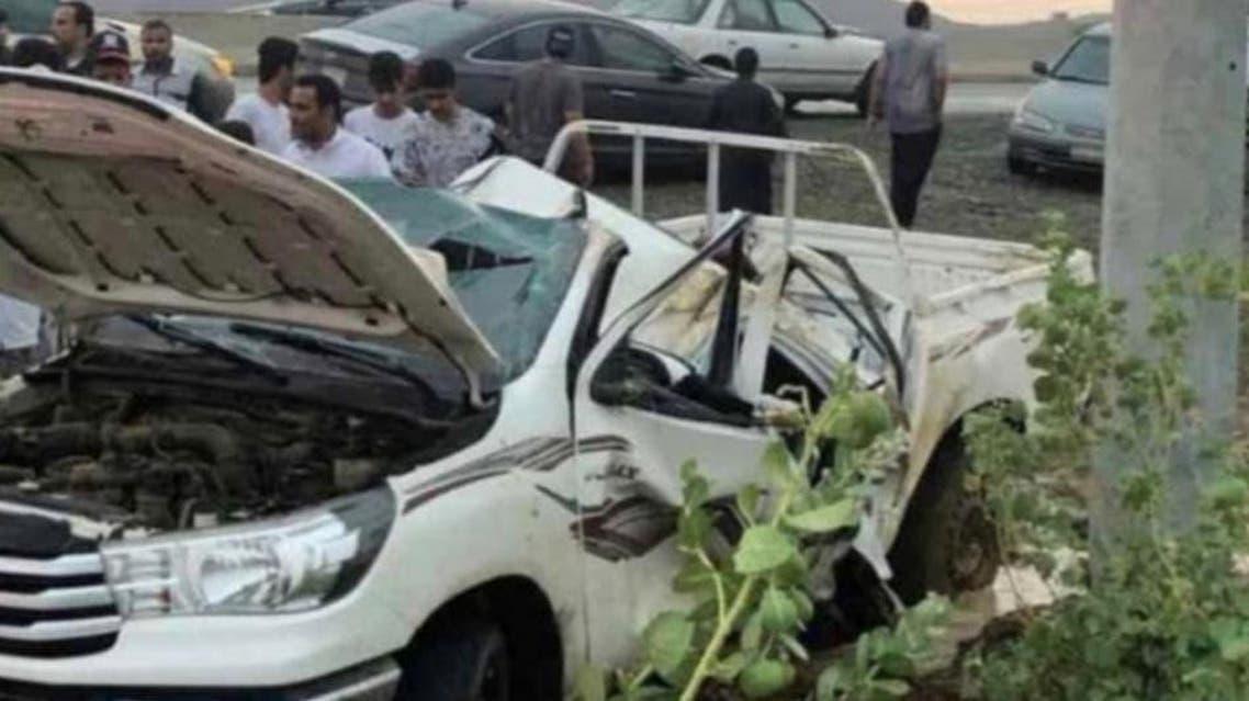 KSA: Jazan traffic accident