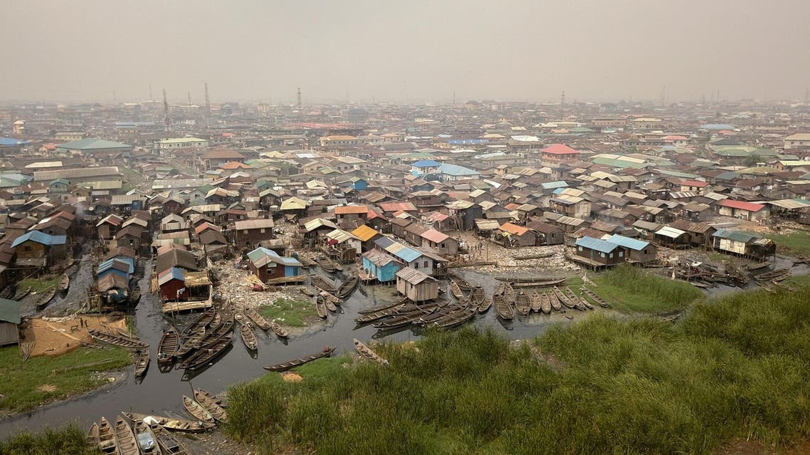 A shanty slum in the Bariga waterfront fishing community of Lagos, Nigeria's commercial capital, on January 22, 2019. (File photo: AFP)