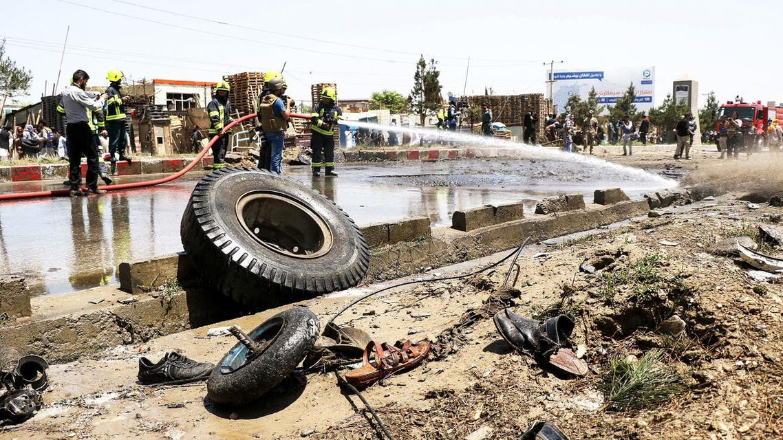Afghanistan bomb (File photo: AFP)
