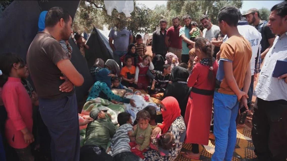 برنامج الغذاء العالمي يحذر من كارثة إنسانية في إدلب وحماه