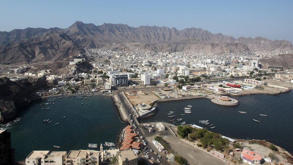 An aerial view of Aden city centre in southern Yemen on November 22, 2010 as the restive country prepares to host the Gulf Cup football tournament amid tight security. AFP