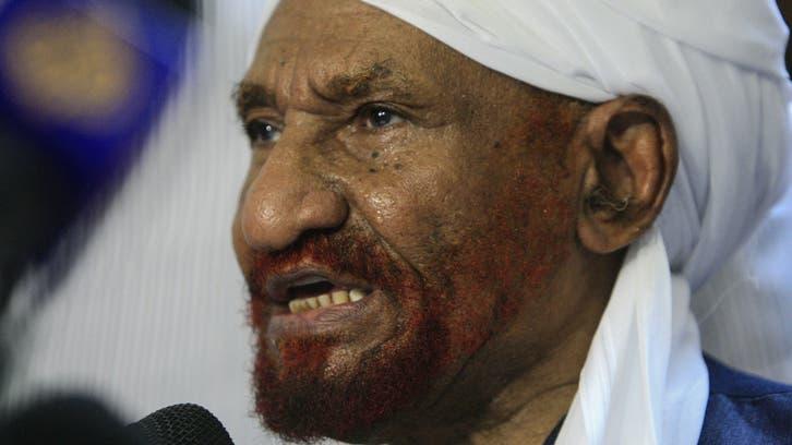 وفاة رئيس حزب الأمة السوداني الصادق المهدي متأثراً بكورونا
