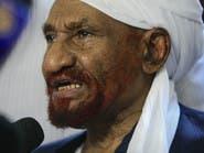 المهدي يدعو لتجميع المبادرات السودانية في مبادرة واحدة