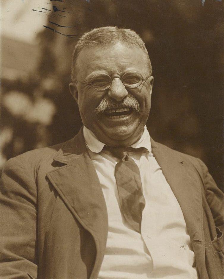 صورة للرئيس الأميركي ثيودور روزفلت