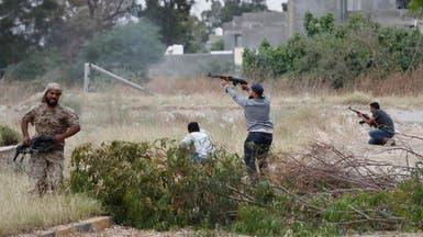 طيران الجيش الوطني الليبي يستهدف مواقع عسكرية في طرابلس
