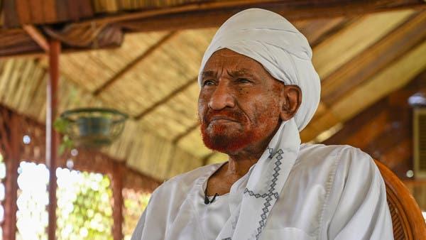 تقارير: تدهور صحة زعيم حزب الأمة السوداني الصادق المهدي