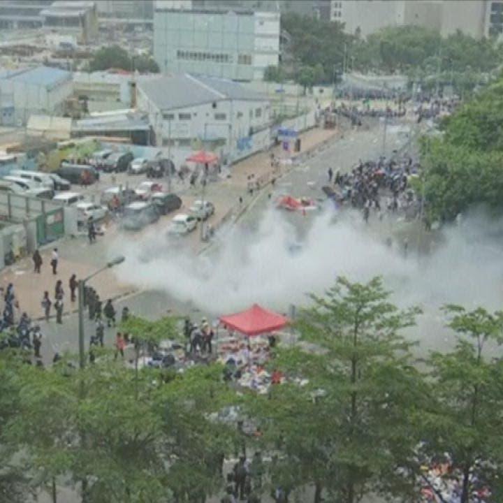 شاهد.. مظاهرات هونغ كونغ ضد قانون التسليم إلى الصين