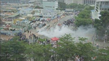 بريطانيا تنفي دعم الاحتجاج العنيف في هونغ كونغ