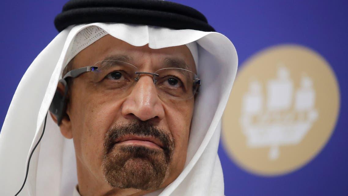 Saudi Energy Minister Khalid al-Falih attends a session of the St. Petersburg International Economic Forum (SPIEF), Russia June 7, 2019. REUTERS/Maxim Shemetov