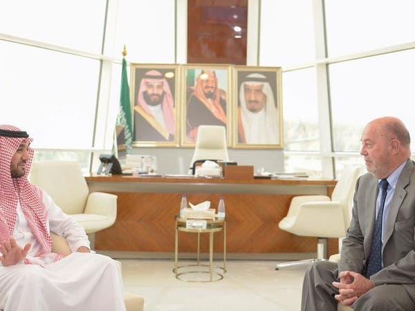 عبدالعزيز الفيصل يستقبل رئيس الاتحاد الدولي للكاراتيه