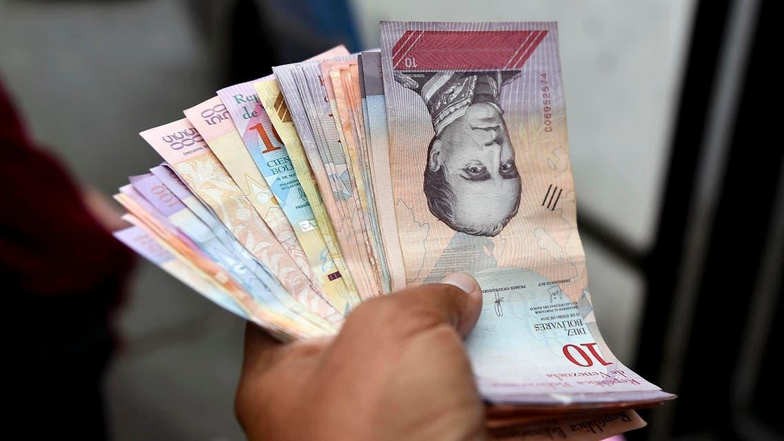 Venezuela banknotes - AFP