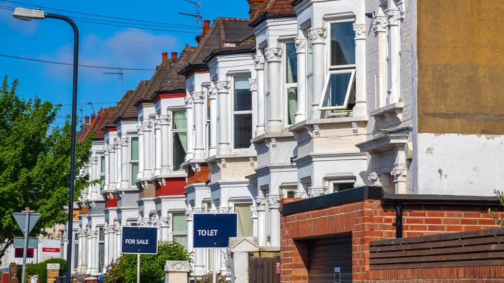 أسعار العقارات في بريطانيا ارتفعت 80% فقط في 20 عاما