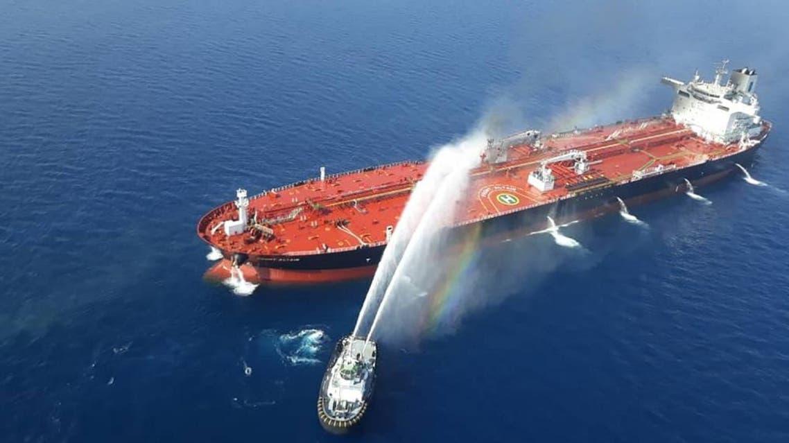 (AFP) tanker gulf of oman