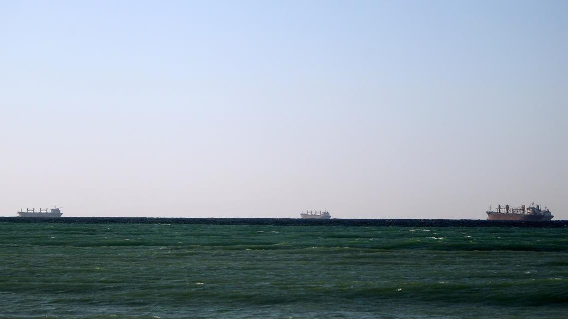 Oil tankers off the shores of Tibat in Oman. (File photo: AFP)