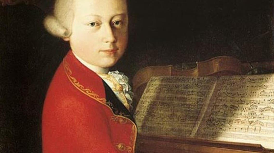 صورة لموزارت وهو في الرابعة عشرة من عمره