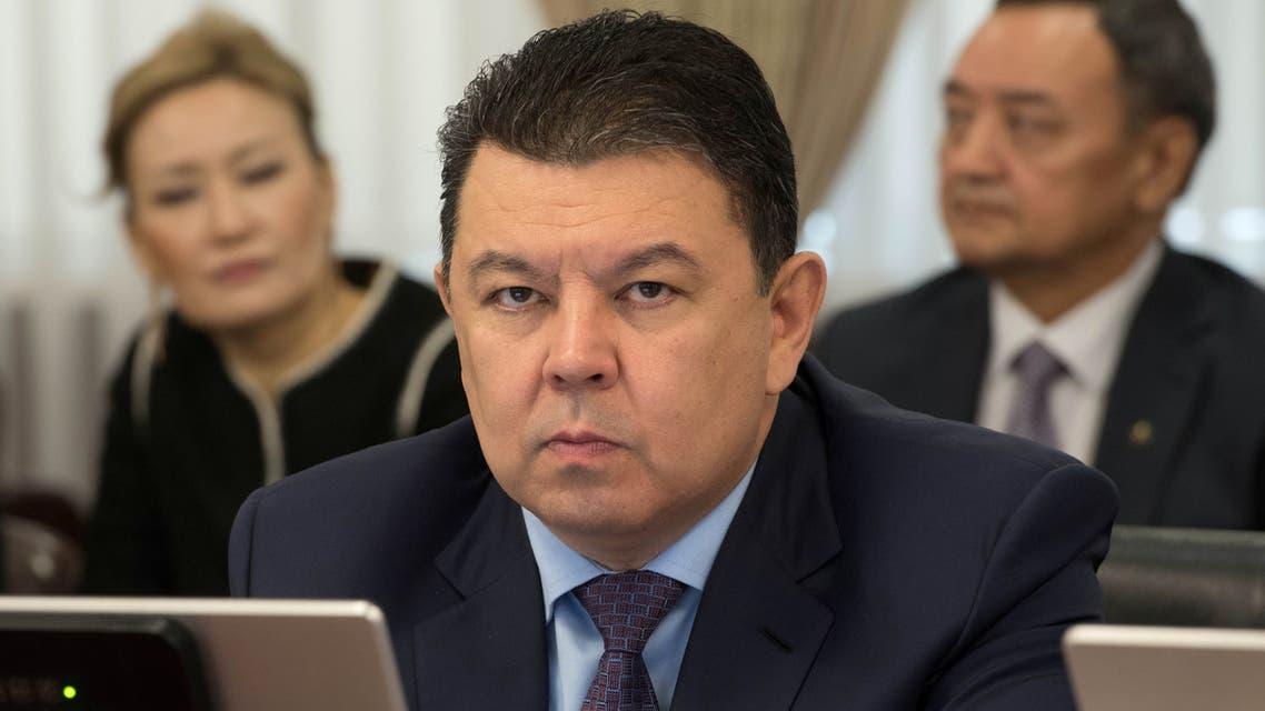 كانات بوزمباييف وزير الطاقة في كازاخستان