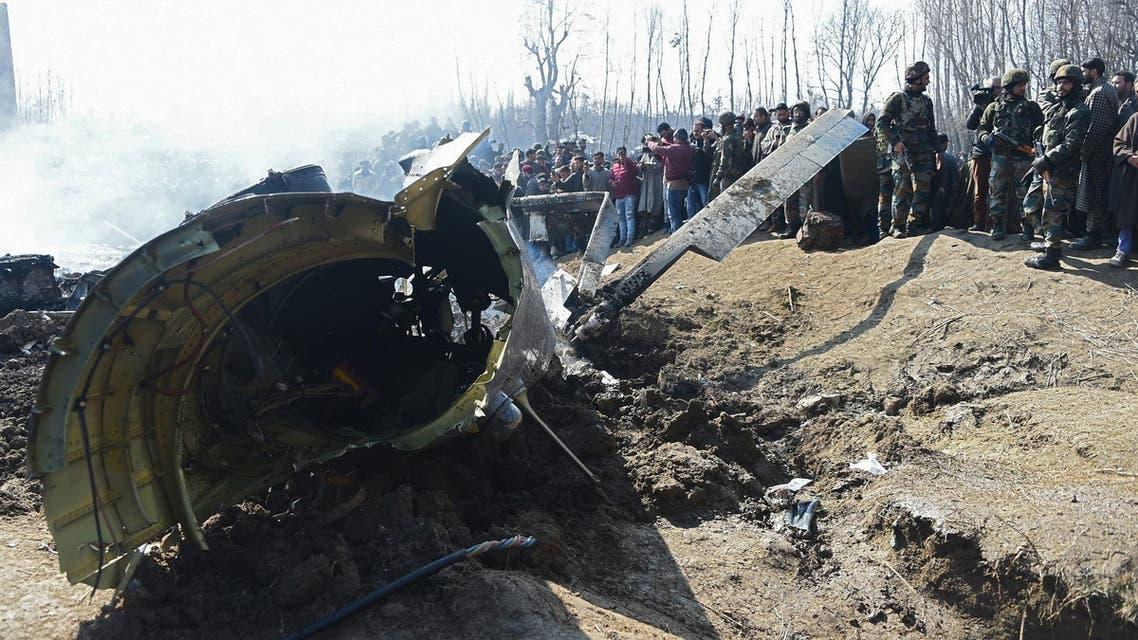 India plane crash - AFP