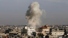 Israel strikes in Gaza after rocket attack