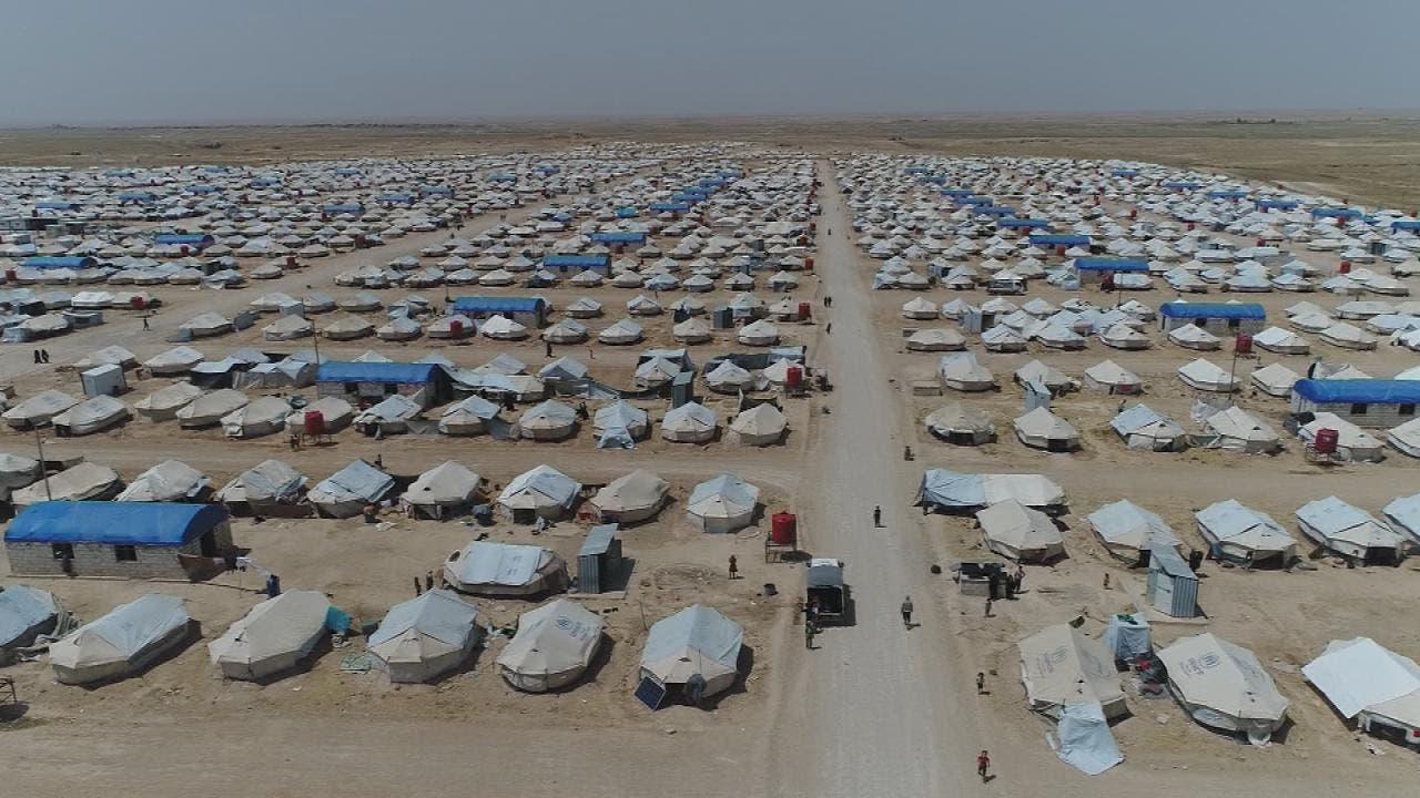 مخيم الهول شمال سوريا