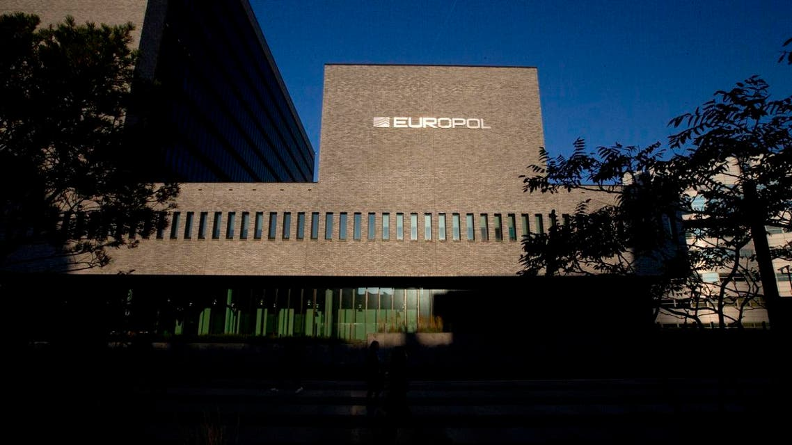 The Europol headquarters in The Hague, Netherlands. (AP)