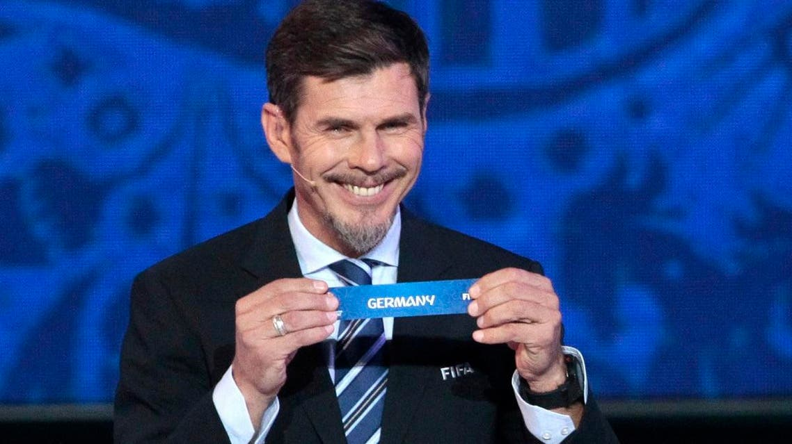 File photo of FIFA presidential adviser Zvonimir Boban during the draw for the soccer Confederations Cup 2017, in Kazan, Russia. (AP)