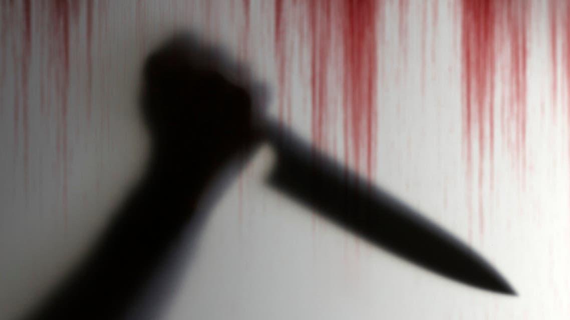 طعن سكين