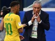 تيتي: غياب نيمار لن يؤثر على المنتخب البرازيلي