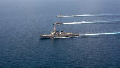الجيش الأميركي يوجه مدمرة ثانية لموقع الهجمات بخليج عمان