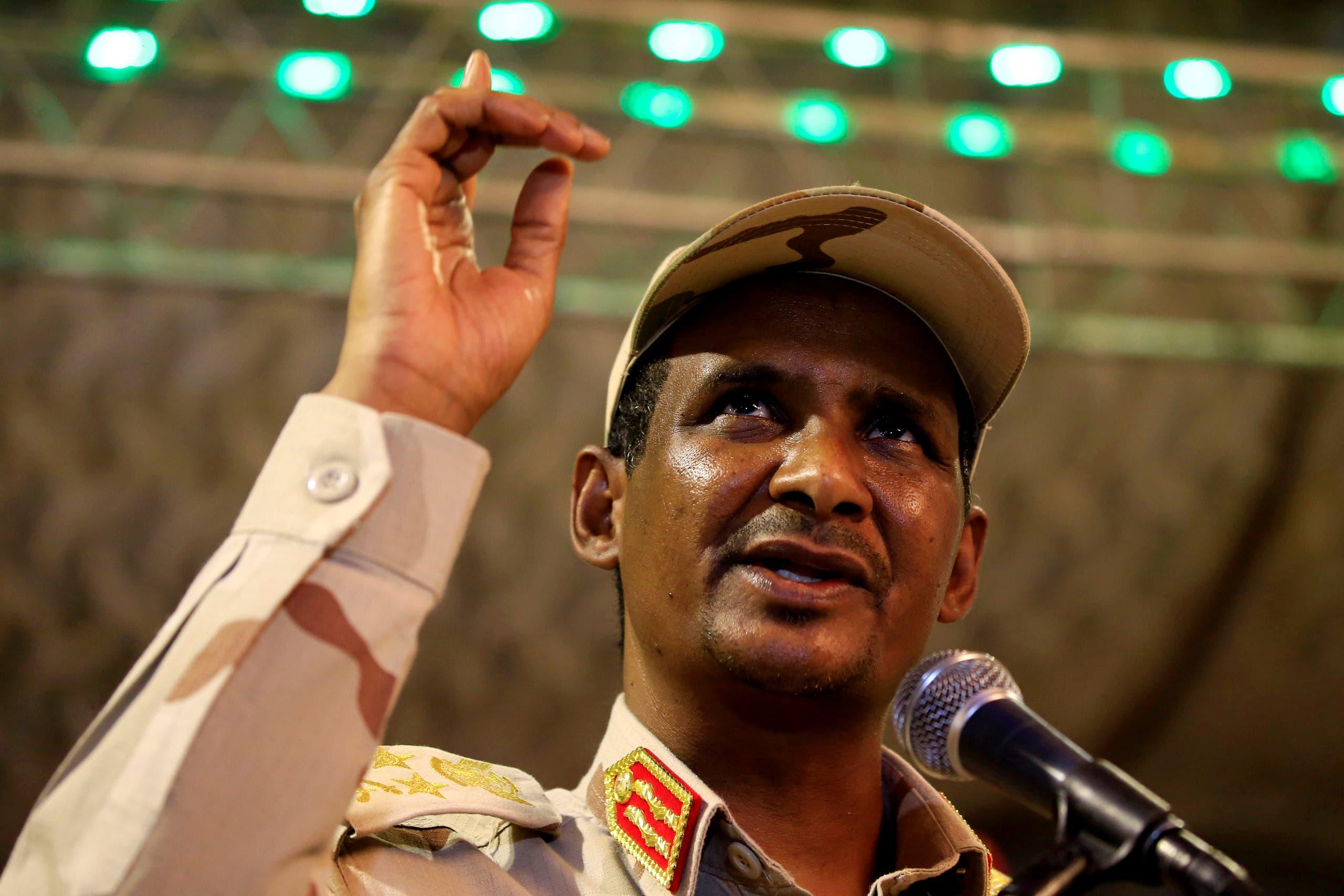 الفريق أول محمد حمدان دقلو المعروف بـحميدتي