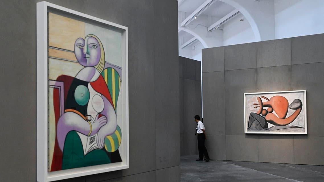 Picasso art exhibition AFP