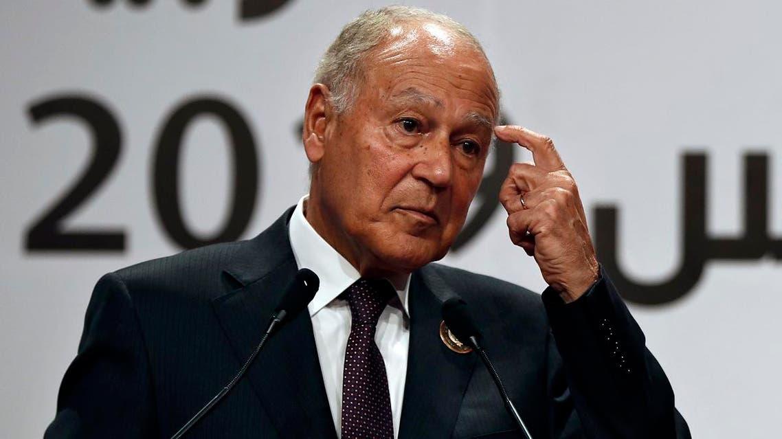 File photo of Arab League Secretary-General, Ahmed Aboul Gheit. (AP)