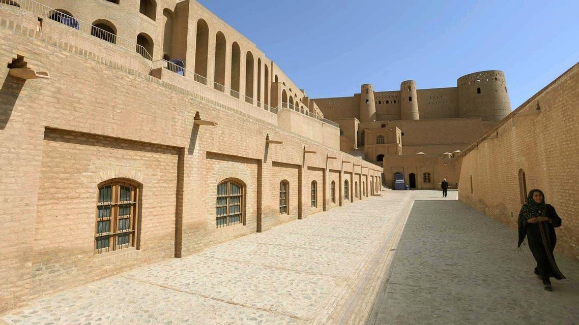 Afghanistan citadel AFP