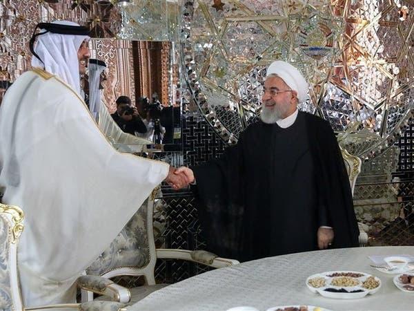 بعد استهداف ناقلات النفط.. أمير قطر لروحاني: سنعزز التعاون