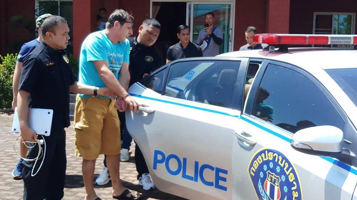 Francesco Galdelli arrested in Thailand - AFP