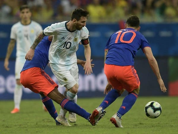 مباراة كولومبيا تكشف صعوبة مهمة ميسي مع الأرجنتين