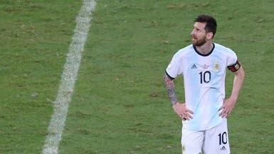 ميسي حزين.. ويطالب لاعبي الأرجنتين برد فعل