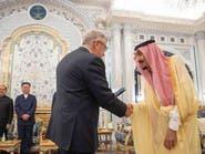 خادم الحرمين الشريفين يتسلم أوراق اعتماد عدد من السفراء