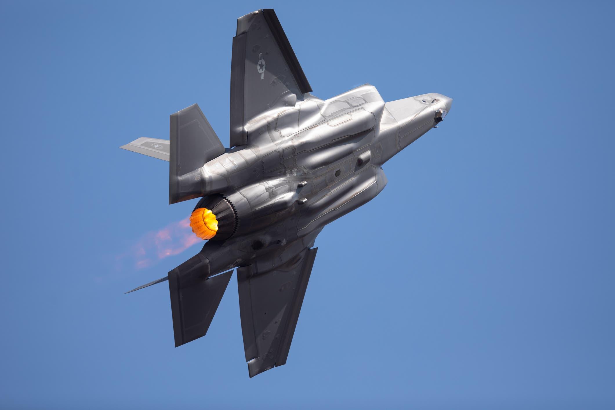 المقاتلة المتطورة F-35