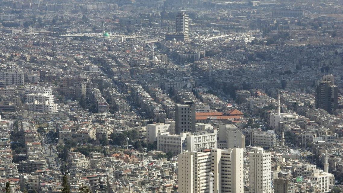 A general view shows the Syrian captial Damascus. (File photo: AFP)